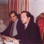 De izda. a dcha: Carlos Barros, Ezequiel Abásolo