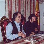 De izda. a dcha: Carlos Barros y Darío Barriera