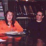 De izda. a dcha: Silvia Bianchi y Carlos Barros