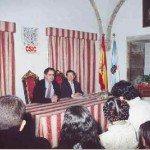 De izda. a dcha: Carlos Barros y Alisa M. Ginio.