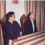 De izda. a dcha: Carlos Barros y Luis M. Glave.