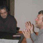 De izda a dcha: Carlos Barros y Tomás Várnagy