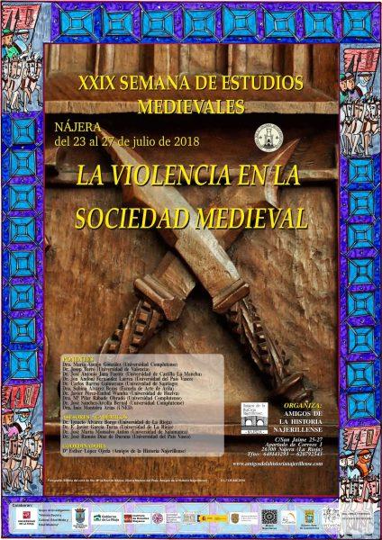 Cartel_XXIXSemanaEstudiosMedievales